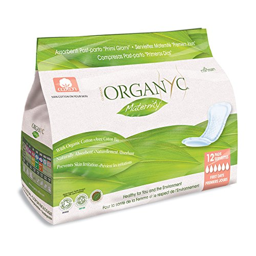 Organyc 100% Cotton Maternity Pads FIRST DAY