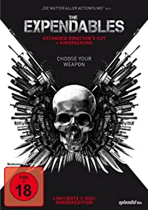 The Expendables (Extended Director's Cut, + Kinofassung, Limitierte Sonderedition, 2 Discs) [Limited Edition]