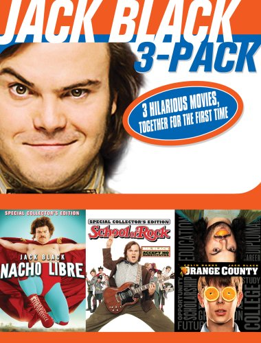 Price comparison product image Jack Black 3 Pack [DVD] [2002] [Region 1] [US Import] [NTSC]