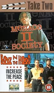Menace II Society / Boyz 'N' The Hood - Increase The Peace (1993/91) [VHS]