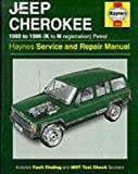 Jeep Cherokee Petrol (93 - 96) Haynes Repair Manual (Haynes Owners Workshop Manuals)