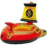 Schwimmring - Aufblasbarer Riese Erwachsener Sich Hin- Und Herbewegendes Bett Spielzeug Wasserwerfer Piratenschiff Gummiring Swimmingpool