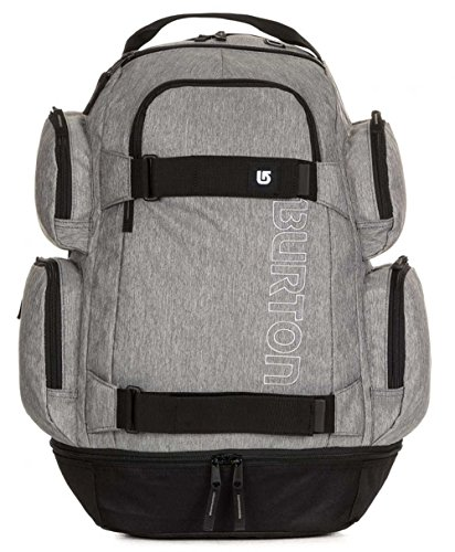 Burton zaino, zaino per la scuola, Distortion Pack, Grey HEATHER