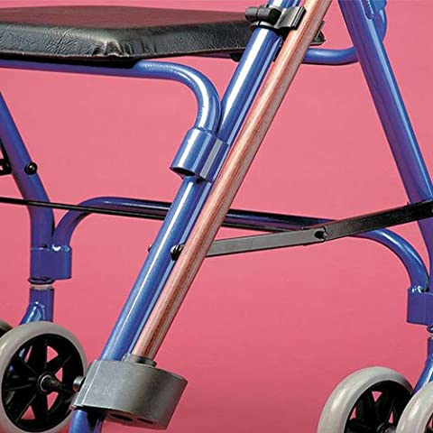 Walking Stick Holder for a Rollator or Wheelchair