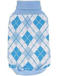 SAMGU Pullover Chandail à Col Roulé Vêtement Tricoté pour Chien chandails tricotés