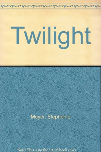 Twilight Stephenie Meyer.