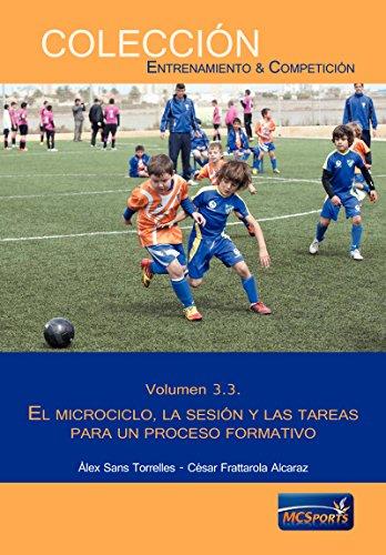 Portada del libro Proceso formativo, tomo 3: El microciclo, la sesión y las tareas para un proceso formativo