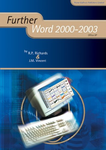 Further Word 2000-2003 (Further ICT)