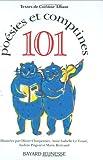 101 Poésies et comptines