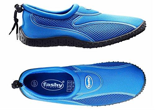 Fashy - Cubagua Aqua-schuh, Scarpe da Spiaggia e Piscina Donna blau