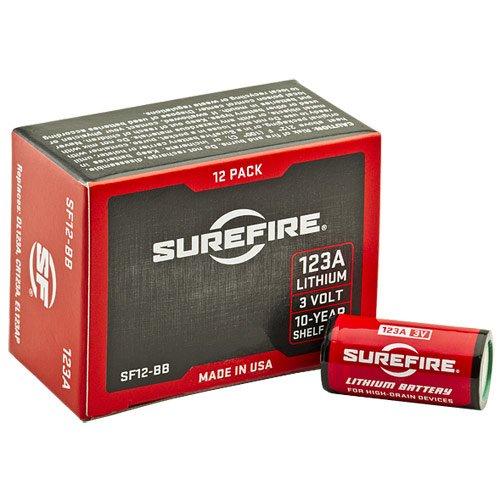 Surefire ricaricabile 123A 3V batterie al litio