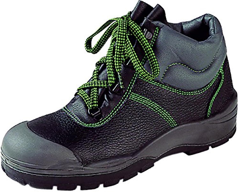 Asatex 39500 37 botas de seguridad, S3, tamaño 4, Negro/Verde