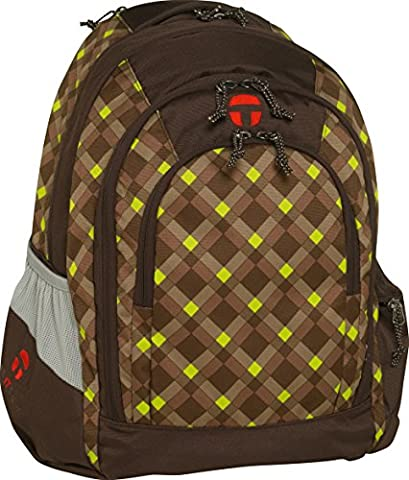 Take It Easy Schulrucksack BERLIN Everglade 494060 braun