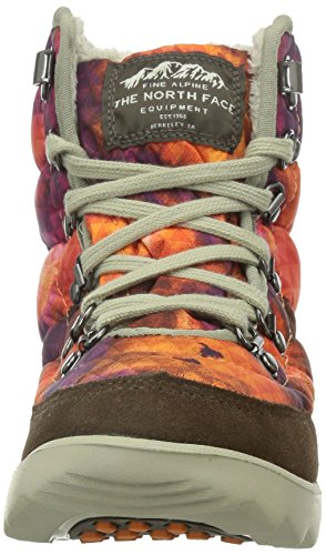 The North Face W Thermoball Lace, Scarpe da Escursionismo Donna Morado / Naranja / Marrón