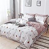 Kleine Ball Heimtextilien-Baumwolle im nordischen Stil, vierteiliges Set, Bett Baumwolle, dreiteiliges Set, einfache Bettwäsche, Steppdecke Baumwolle 200X230CM
