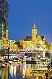 Artland Qualitätsbilder I Alu Dibond Bilder Alu Art 60 x 90 cm Städte Deutschland Köln Foto Bunt C1TN Kölner Yachthafen