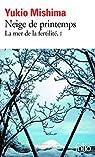 La Mer de la fertilité, tome 1 : Neige de printemps par Mishima