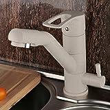 PLYY Moderner Waschtisch-Mischbatterie Einhand-Wasserfall Auslauf Spüle Waschraum Waschbecken Poliert Verchromter Wasserhahn