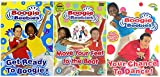 BBC CBeebies Boogie Beebies DVD Collection Boogie Beebies - Get Ready to Boogie / Boogie Beebies - Move Your Feet to the Beat / Boogie Beebies - Your Chance to Dance! + Extras