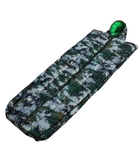 Explorer 100% Baumwolle (Sport Camouflage Coat Schlafsack Individual Soldier Thicken Camouflage Schlafsack Outdoor Explorer Sleeping Warmer Schlafsack)