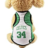 Hundewindeln Hund Latzhose Hund-Weste mit Mesh T-Shirts, Haustiere Kleidung Cat Shirt Pet Kleidung Sommer Sweatshirt Football World Cup Kleidung, Celtic-4X L Waschbare