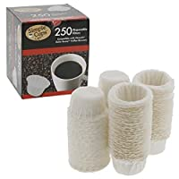 Nescafe Nespresso Coffee Disposable Filters For use with Melody, Genio/Picolo and Mini Me, NOT Circolo and Esperta