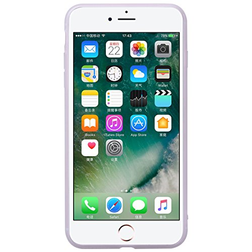 SMART LEGEND Cover iPhone 6 6s, iPhone 6 6s Case Silicone Cute Semi Trasparente Ultra Slim con Disegno Bella, Custodia Molto elegante e raffinato Soft Case Antiurto Protettivo Bumper Antigraffio Perfe Fiore e Uccello