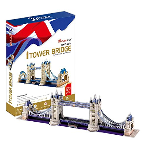 CubicFun Tower Bridge - 120 Pieces