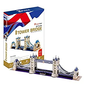 CubicFun Puzzle 3D Tower Bridge (CPA Toy Group Trading S.L. MC066)