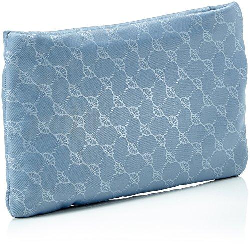 Joop Damen Nylon Cornflower Mira Cosmeticpouch Mhz Clutch, 1x14x22 cm Blau (Light Blue)
