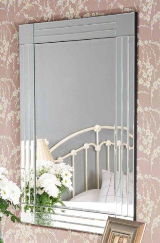 My-Furniture – FLOW – Espejo de pared grande, rectangular y lujoso