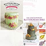 Buttercream One-Tier Wonders and The Contemporary Buttercream Bible [Hardcover] 2 Books Bundle Collection - 30 simple and sensational buttercream cakes, The complete practical guide to cake decorating with buttercream icing