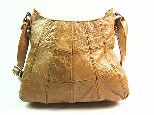 The Leather Emporium - Borse a spalla donna Tenné