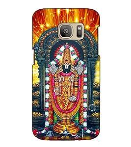 Fuson Designer Back Case Cover for Samsung Galaxy S7 Edge :: Samsung Galaxy S7 Edge Duos :: Samsung Galaxy S7 Edge G935F G935 G935Fd (Tirupati Balaji theme)
