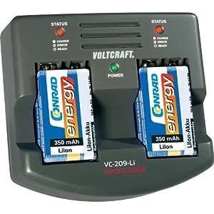 Chargeur d'accus 9V Li-Ion VOLTCRAFT VC209-Li