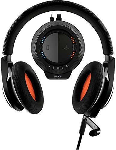 Plantronics Rig Stereo-Headset + Mixer für PC/Mac, Xbox 360, PS3, Mobile und PS4 - Boom Headset Handy Mobile