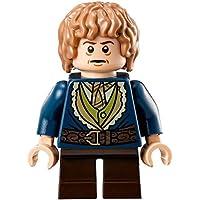 LEGO La Hobbit: Bilbo Baggins Con Azul Coat Minifigura