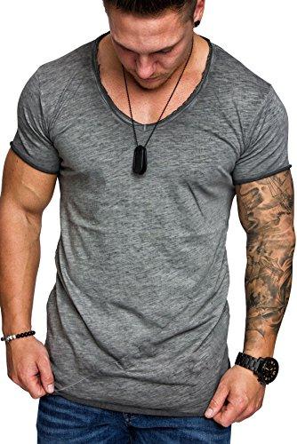 Ehpow Mens Casual Shorts Sleeve Shirts Basic T-Shirt Tee Top