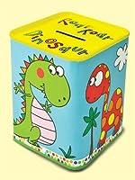 rachel ellen tin money box dinosaur