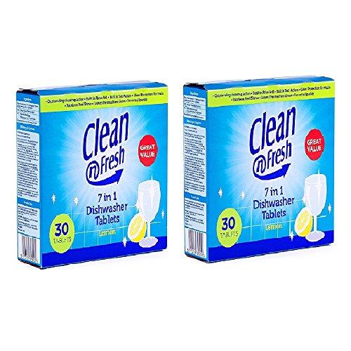 Clean N Fresh Dishwasher Tab – 30 Tablets (Pack Of 2)