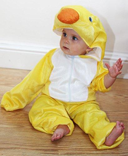 Imagen de fun play disfraz animal pato / patito para niño animal onesie pato / patito para niños 3 5 años talla m alternativa
