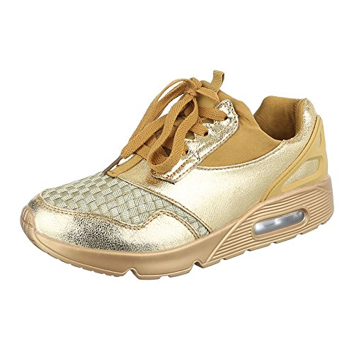 Ital-Design, Sneaker donna Gold