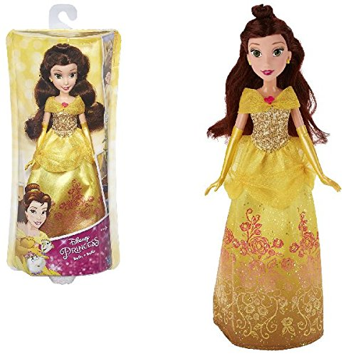 Disney Princess-B5287ES2 Princess Muñeca, Color Amarillo (Hasbro B528