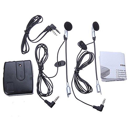 PERG Rate motociclo Casco da Motociclista 2Vie Intercom Headset comunicazione accessori di sistem