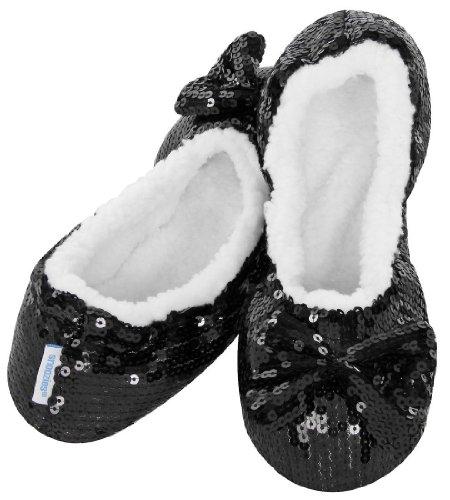 Snoozies, Pantofole donna Nero (nero)