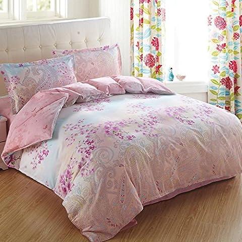 Bettwäsche Hautfreundliche Baumwolle Aktiver Druck 4 Stück Sets (1 Bettwäsche + 1 Steppdecke + 2 Kissenbezüge) , 6 , 1.8m (5 feet) bed