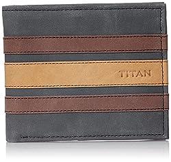 Titan Black Mens Wallet (TW185L)