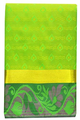 SARAVANABAVA SILKS Art Silk Saree With Blouse Piece(Srbs000437_Pink Red_Free Size)