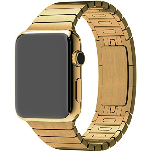 Diamond Cover 515522 High Class Apple Watch 42mm Gliederarmband 24k gold