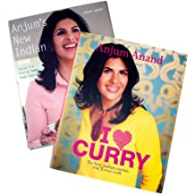 Anjum Anand 2 book set (Anjum's New Indian, I love Curry) by Anjum Anand